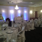 Wedding Reception in Banquet Hall