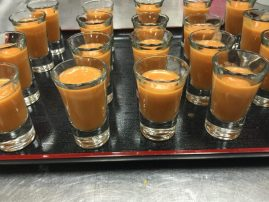Toronto kosher caterer presents soup shooters
