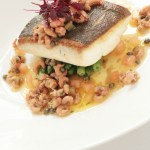 Fish entree by kosher catering Toronto company