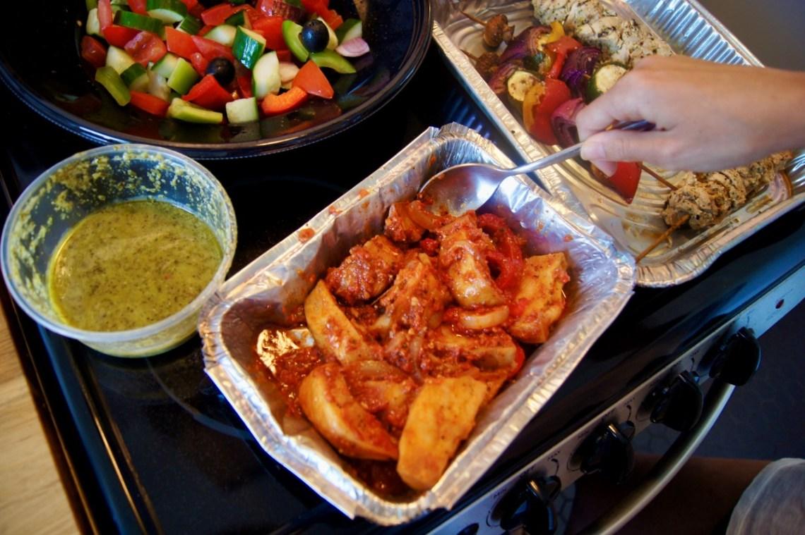 Kosher Take Out - Greek Meal