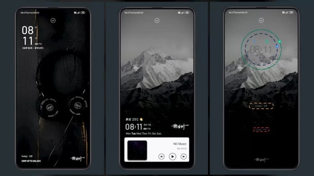 One-touch-TOP-plan-MIUI-11-Theme-Amazing-Lock-Screen