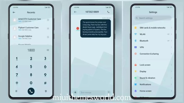 Moon white MIUI 12 Theme with nice Charging Animation