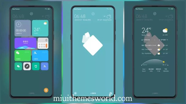 Qing Su Third Party MIUI Theme for MIUI 12