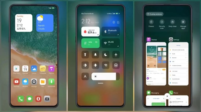 UI14 MIUI Theme for MIUI 12 with Cards on lock screen