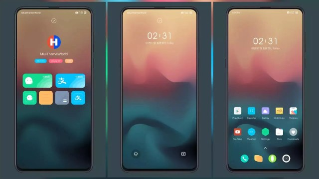 Hongyu MIUI Theme for MIUI 12 | Amazing status bar icons