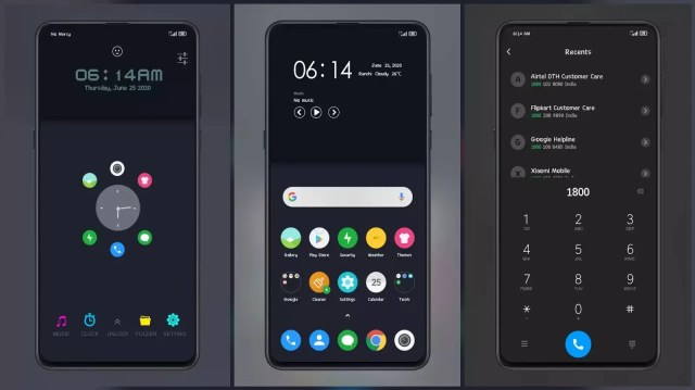 CLOCKY_STIW_PREMIUM MIUI Simplest Dark Theme