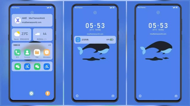 Zhixia MIUI 12 Theme for MIUI 11 with Animated icons | lock screen customization