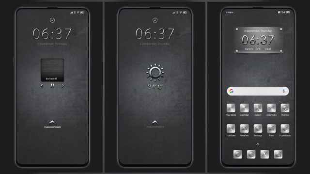 Gray-Metal-Metallic-Design-Color-MIUI-11-Theme