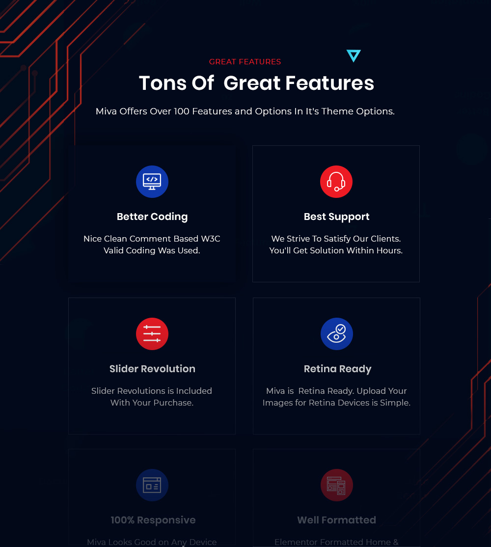 Tons Of Great Features