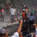Las paredes gritan:  México… 125 de 137… en corrupción…