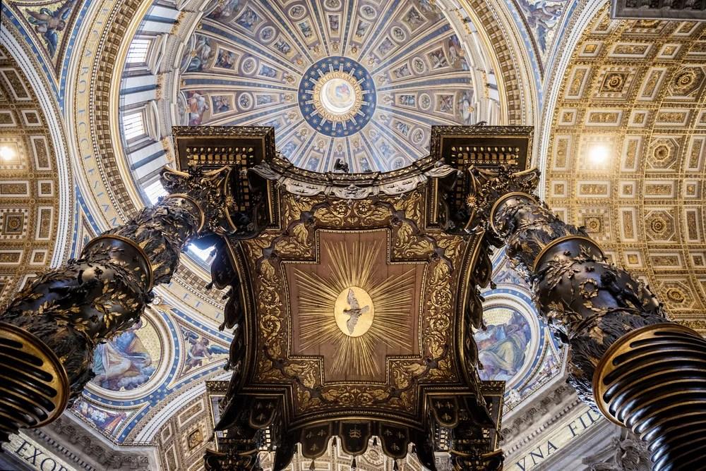 Resultado de imagen de basílica de san pedro interior