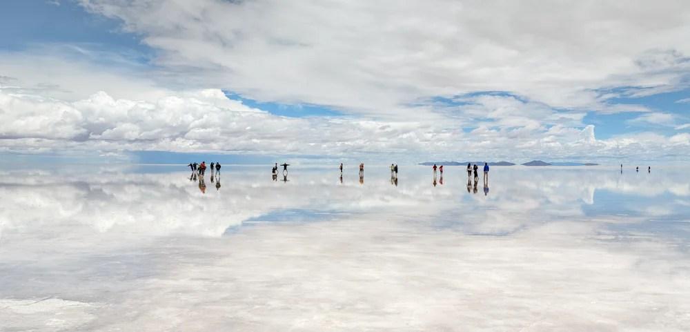 El salar de Uyuni descubre el mayor espejo del planeta