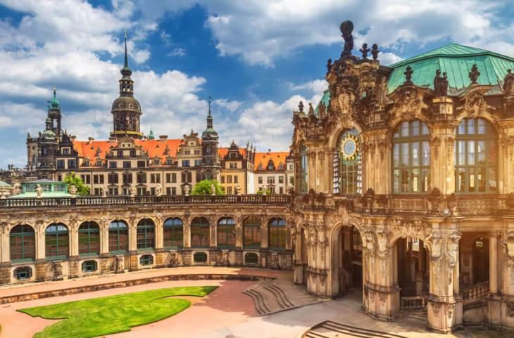 Residenzscholss, un palacio con diferentes estilos artísticos ...