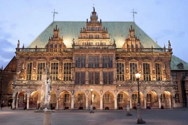 Visitamos el histórico ayuntamiento gótico de Bremen - Mi Viaje