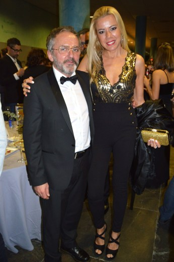 Con Morris Durán