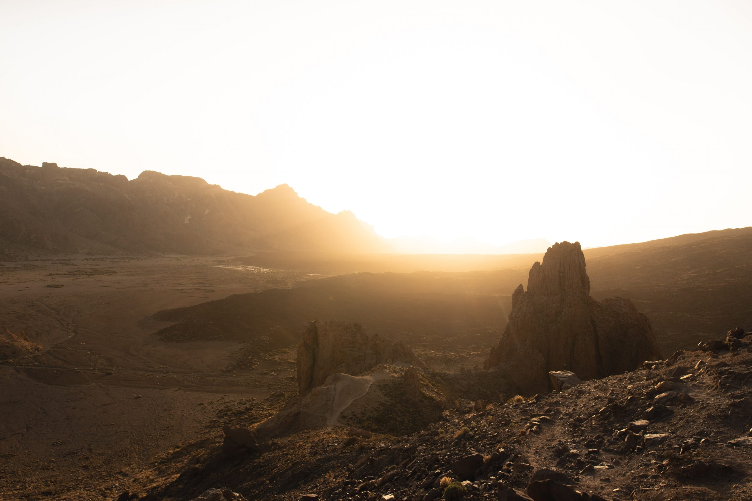 camino desierto, arena