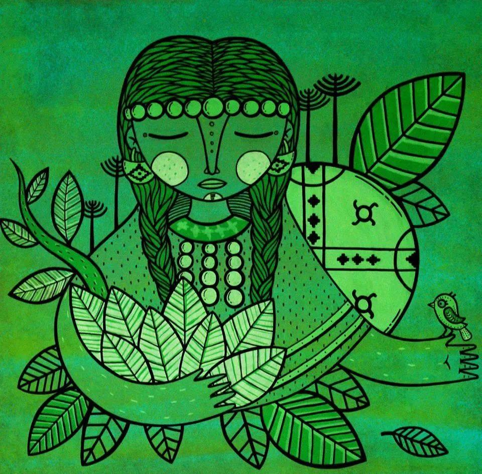 PRIMERA LECCIÓN - Poema mapuche de Alejandra Llanquipichun