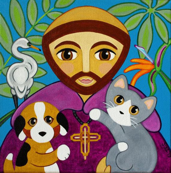 «Sirvan su propia oración tan sencilla como profunda y este inmenso poema para conmemorar la vida y el fallecimiento de Francesco d'Assisi