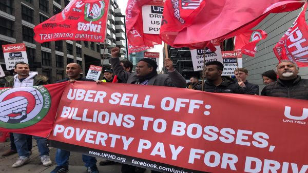 Uber Protest 9th May 2019