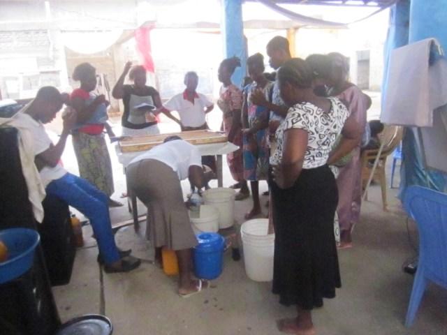 Atelier Pratique au Femmes de CDE-504
