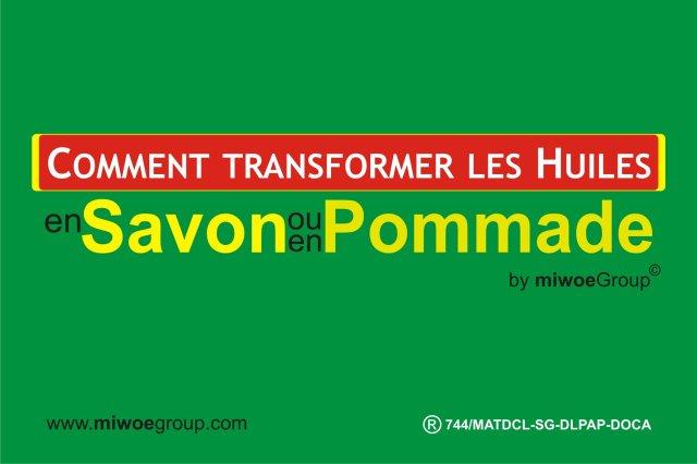 Formation en Savonnerie et Cosmétique à Lomé Togo