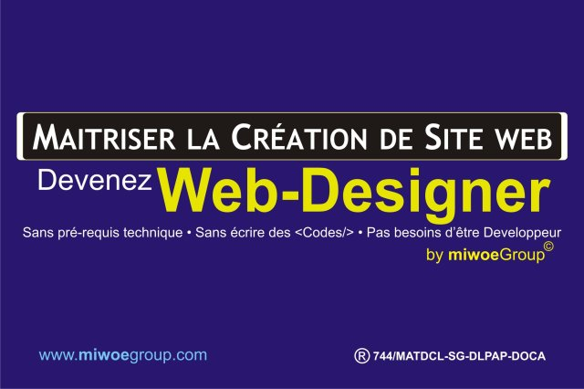 Formation en Création de site web au Togo à Lomé