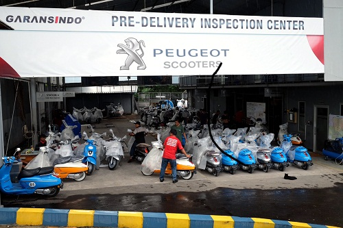 Peugeot Scooters - Pre Delivery Inspection