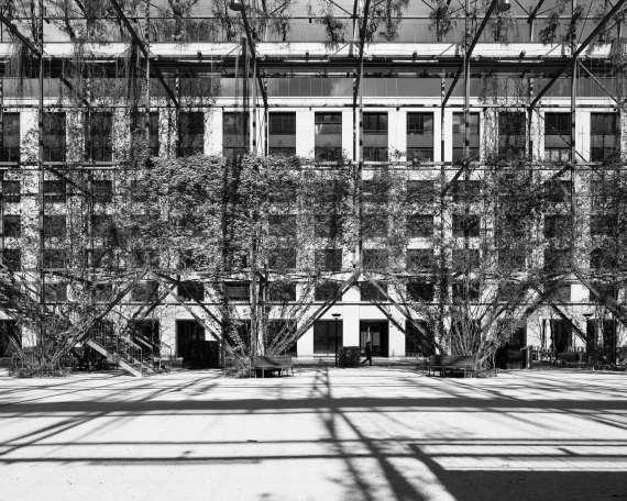 Architektur und Park-Gestaltung