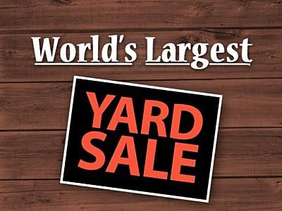 World S Largest Yard Sale 2017