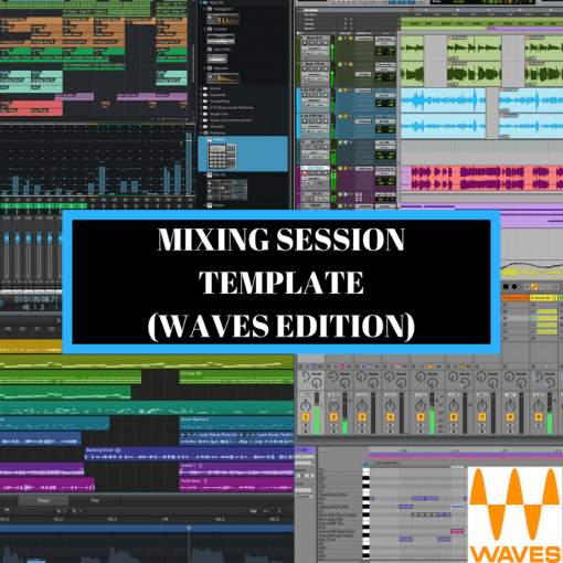 Mixing-Session-Template-Waves-Edition