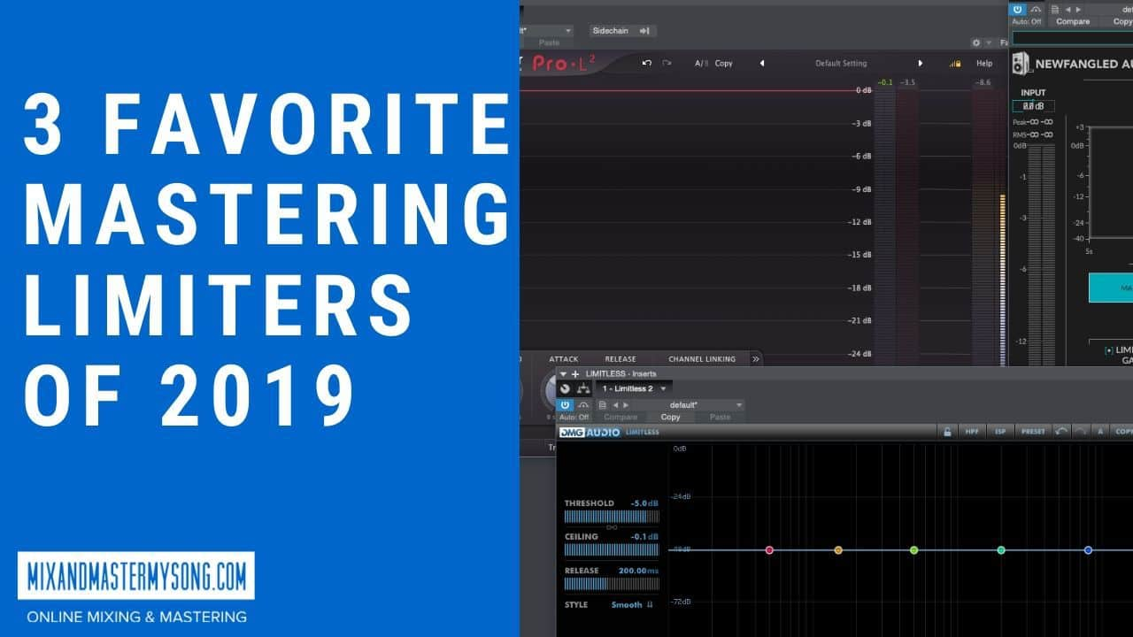3 of the Best Mastering Limiter Plugins Of 2019