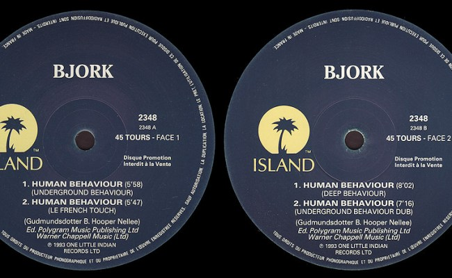 Björk Human Behaviour Dimitri Mix Collectors