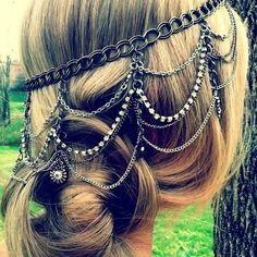 Head chain envelhecida