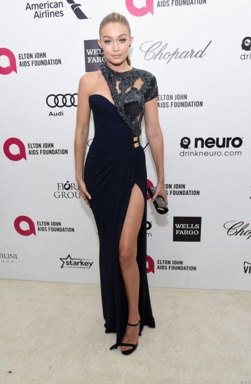 Gigi Hadid vestido after party oscar 2015 2