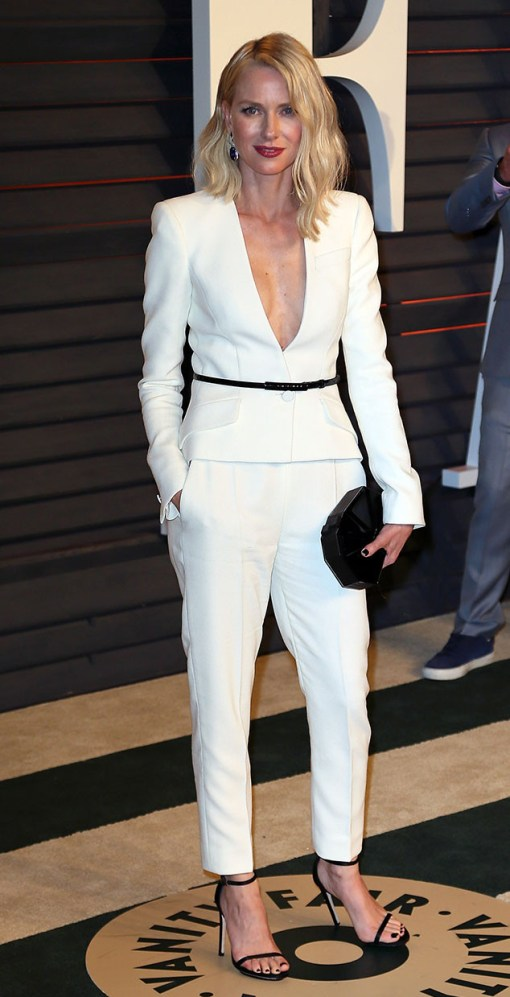 Naomi Watts vestido after party oscar 2015