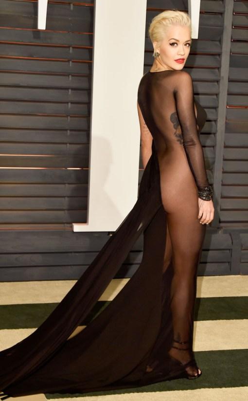 Rita Ora vestido after party oscar 2015