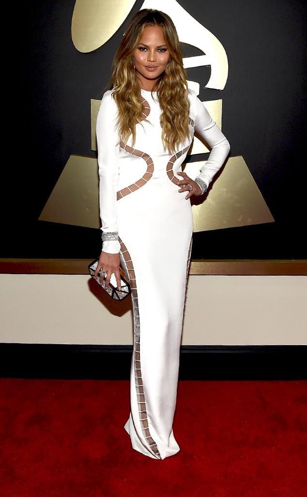 Chrissy Teigen Grammy Awards 2015