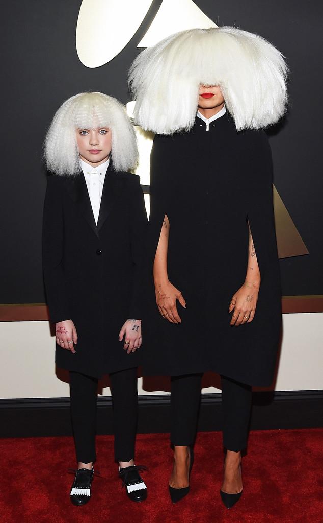 Maddie Ziegler e Sia Grammy Awards 2015