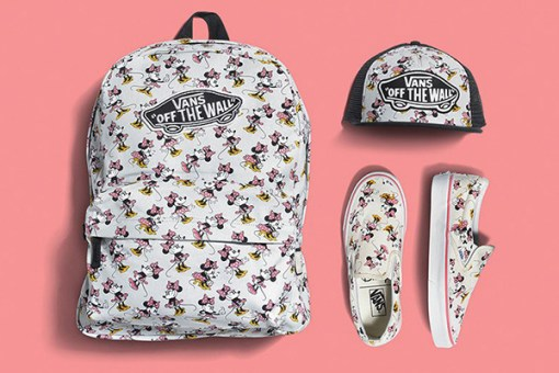 Vans e Disney parceria mickey minnie pooh princesas young at heart