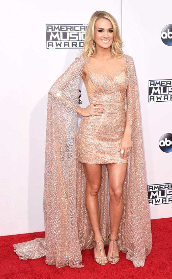 Carrie Underwood AMA American music Awards 2015