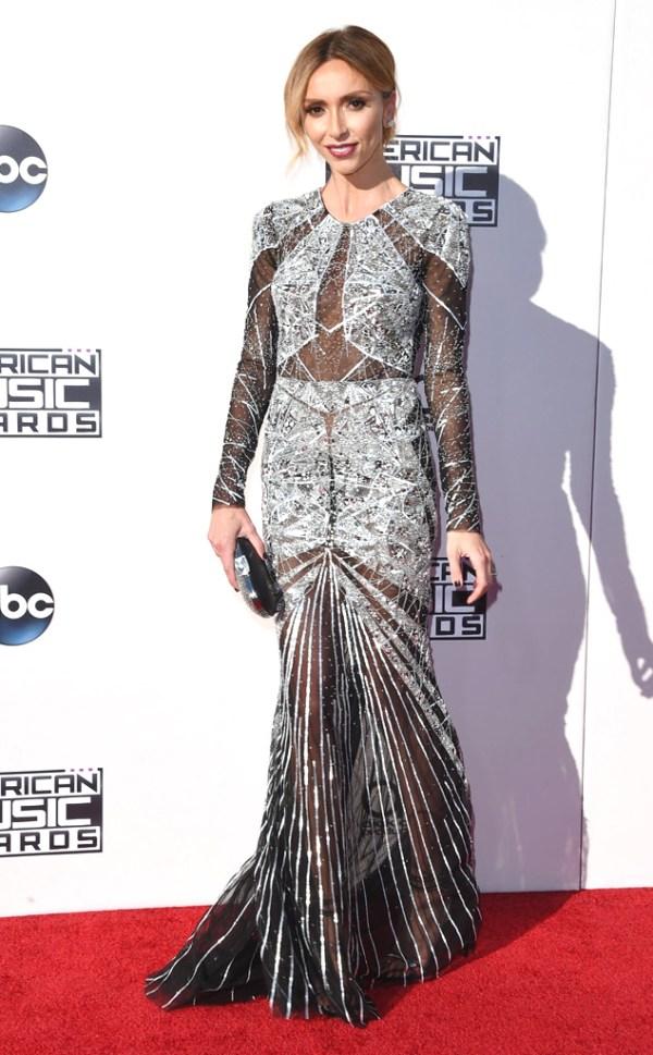 Giuliana Rancic AMA American music Awards 2015