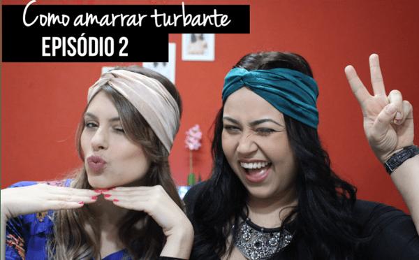 Como amarrar turbante episódio 2