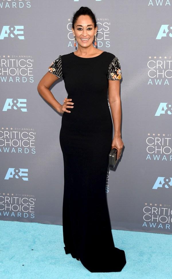 Cricit's Choice Awards 2016 Look Tracee Ellis Ross