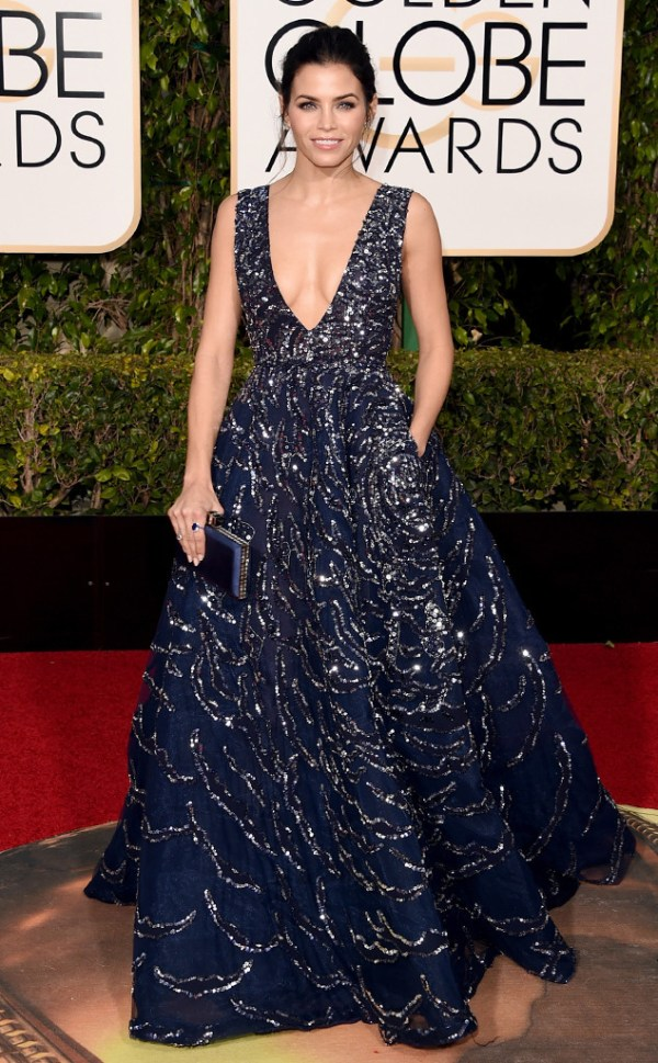 look golden globe awards 2016 Jenna-Dewan-Tatum