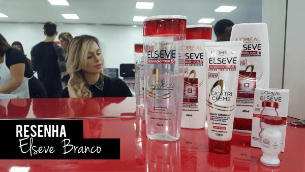 Resenha produtos L'Oréal Elseve reparação total 5 plástica capilar