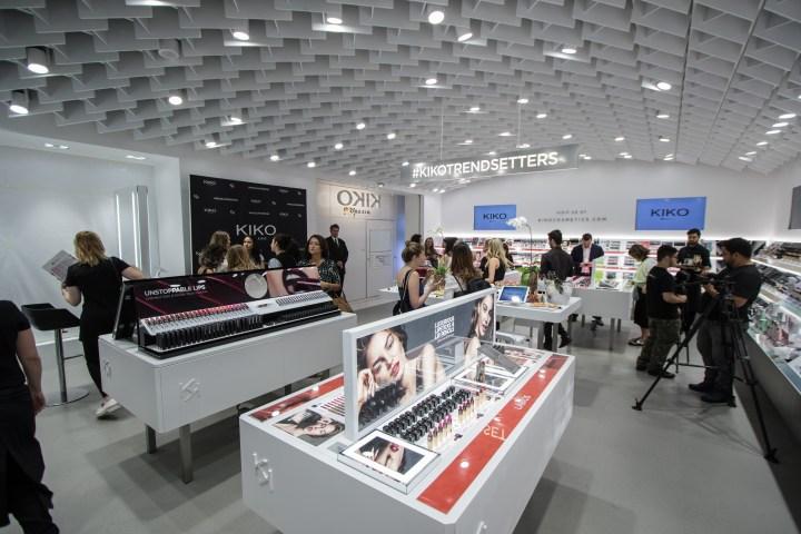 Inauguração Loja KIKO Milano no Brasil produtos (22)