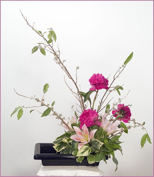ikebana -aranjament