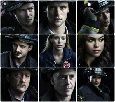 Chicago Fire Personagens