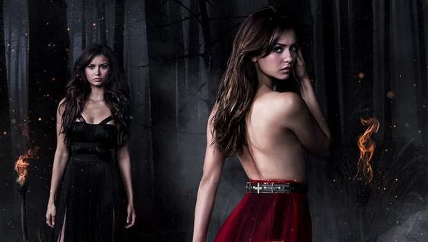 elena katherine the vampire diaries