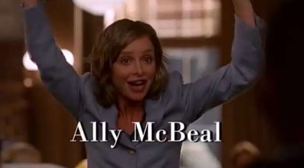 Ally McBeal Opening